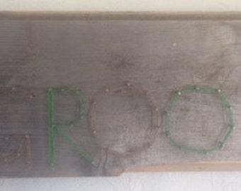 """String Word Art- """"GROOT"""