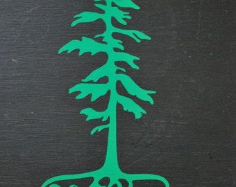 Oregon Roots Vinyl Decal