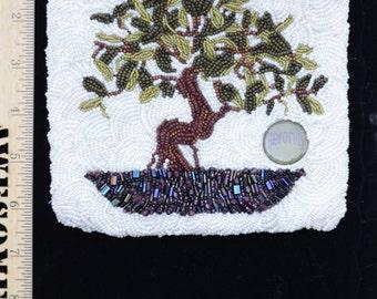 Beaded Tree Bag
