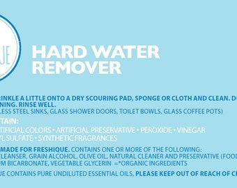 Natural Hard Water Remover - Unscented