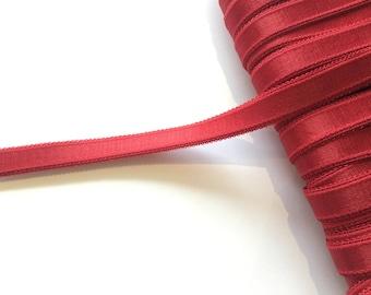 Red Bra Strap Elastic - 2 m / 14 mm - Lingerie Elastics