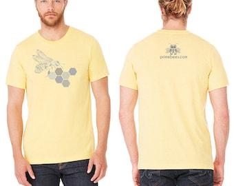 Honeycomb Beekeeping Bee Shirt