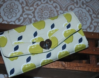 NCW Green Apple Clutch Wallet