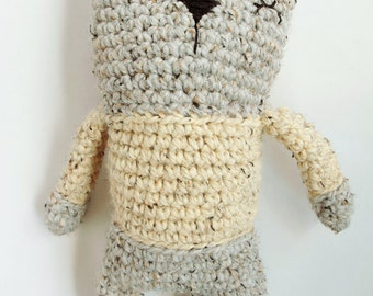 CHUNKY CAT Amigurumi, Plushie, Ready to Ship, Crochet toy, Crochet animal, Cute cat toy, cat Softie, Hand Made, Crochet Cat,