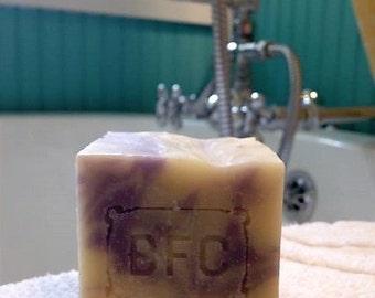 Lavender - Handcrafted Natural Artisanal Soap (Lavender Soap, Cold Process Soap, Natural Soap, Handcrafted Soap)