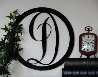 wall letters decorative letters metal wall letters monogram letter wall hanging