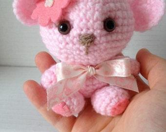 Sweetheart Teddy Bear Crochet Pattern