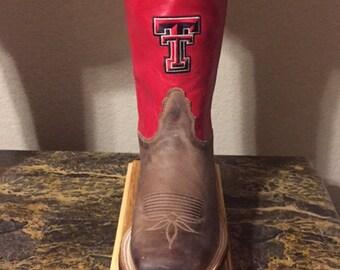 Texas Tech Boot Lamp