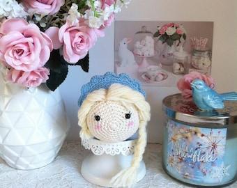 Tsum tsum Elsa from Frozen disney crochet amigurumi