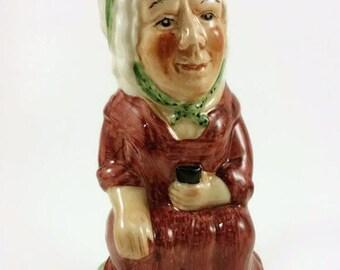 Vintage Mini Toby Jug Martha Gunn Hand Painted
