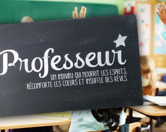 Professor - an individual who feeds the spirits, comforts the hearts and inspires dreams