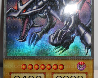 Yu-Gi-Oh! Holographic ORICA | Ultra Rare | Red-Eyes Black Dragon | ANIME