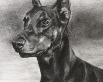 "14""x18"" Custom Drawing: Dog or Other Animal"
