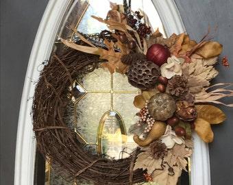 Beautiful Bounty Fall Wreath