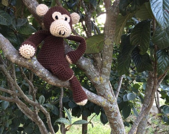Janis soft plush monkey