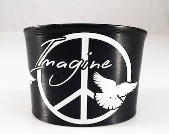 Imagine Bracelet - Cuff - White