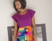 RESERVED Marlyn Spicy Toast Dress Funky Urban