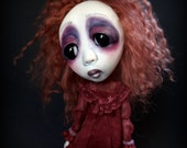 Loopy Southern Gothic Art Doll Victorian Dark Goth Cinnamon Spicer