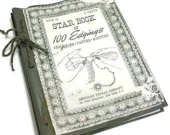 String Bound Star Book of 100 Crochet Edgings | Tatted Edgings | Knitted Edgings