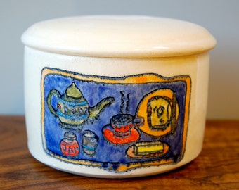 Tea Tray Sugar Bowl