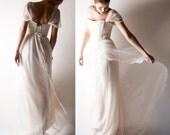 Bohemian Wedding dress, Romantic wedding dress, Boho wedding dress, Lace wedding dress, Alternative wedding dress, Chiffon wedding dress