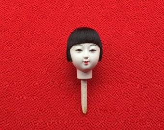 Japanese Doll Head Hina Matsuri Doll Festival Girl's Head D11-13 Japanese Doll