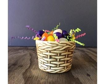1950s VIntage Flower Pot - Easter Decor
