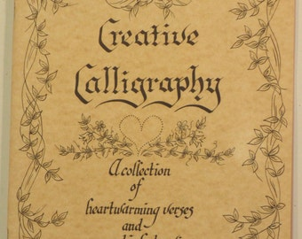 Creative Calligraphy booklet