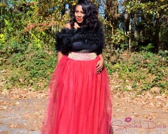 Plus Size Tutu Skirt - Full Length