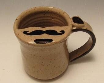Mustache Mug/Moustache Mug/Mustache Cup 8-10 Ounces