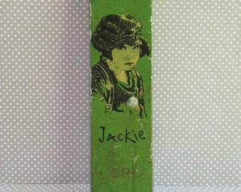Vintage Jackie Coogan Canco Beautebox Tin Pencil Box 1930s