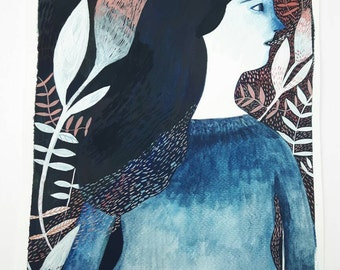 Looking to nature - Giclee print