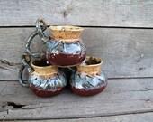 Coffee mug-java-tea cup- microwave safe-handmade stoneware mug-unique design drinking beverage-beverage cup-drinking vessel