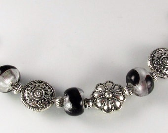 Medical Bracelet attachment only BLING for Your ID tag replacement bracelet allergy alert