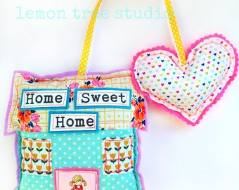 Hang Some Happiness -- Home & Heart Decor -- Home Sweet Home