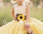 Yellow Sunflower Dress Ye...