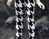 30% OFF! BJD Houndstooth Leggings Tights for Unoa Volks MSD Dollfie