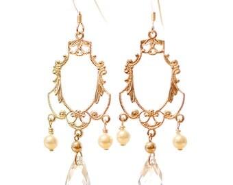 Giada Bridal Earrings by Catherine Nicole
