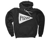 Unisex Pizza Hoodie Sweatshirt Valentines gift for him winter gift for men sweatshirt american apparel gift for dad hoody husband gift