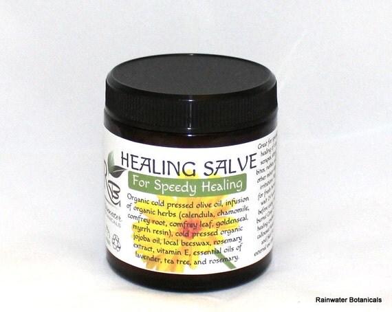Herbal Healing Salve for Natural Healing 4oz