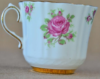 Pink Rose Tea Cup by Old Royal Bone China