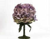 Floral Goblet, Wine Glass, Cup, Flower, 15 oz., Fairy, Wedding