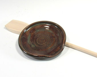 Ceramic Spoon Rest - Stovetop Spoon Rest - Ceramic Kitchen Accessory - Cooking Spoon Rest - Soap Dish - Teabag Holder - Kitchen Decor -