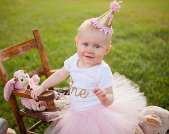First Birthday Outfit Girl Tutu, Tutu Dress, Tulle Skirt, 1st Birthday Outfit Girl Tutu, Baby Shower Gift, Baby Tutu, Birthday Girl Tutu