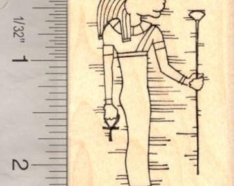 Sekhmet, Egyptian Goddess Rubber Stamp H13707 Wood Mounted