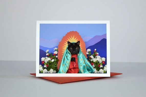 AC is Our Gentleman of Guadalupe Greeting Card
