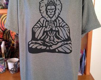 Narasimha screen print t-shirt