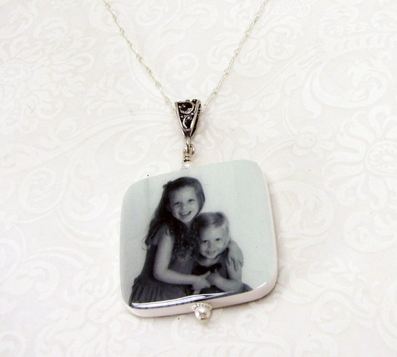 Custom Photo Necklace - Lg - P1RfN
