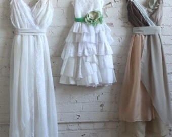 Final Payment for Gillian Hollen's Custom Bridesmaids Dresses, Reception Dress, Flower Girl Dress, and Mother of the Bride Dress
