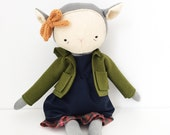 "foundling lamb girl ""sasha"" 